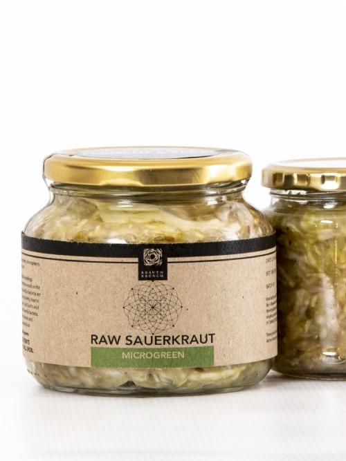 Raw Sauerkraut - Microgreen, 500ml