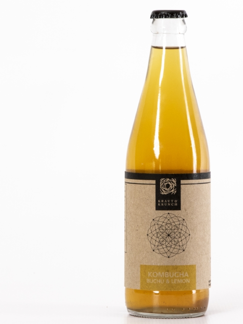 Kombucha - Buchu and Lemon, 750ml - DEAL OF THE MONTH - WAS R95