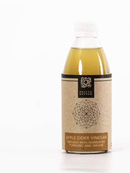 Apple Cider Vinegar, Ginger & Turmeric, 250ml
