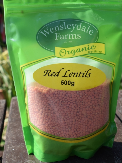 Lentils Red 500g - organic (CERES)