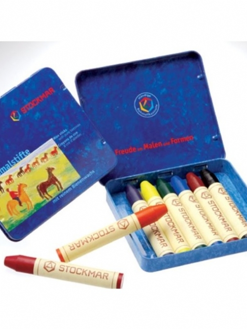 STOCKMAR Wax Crayons - 8 colours