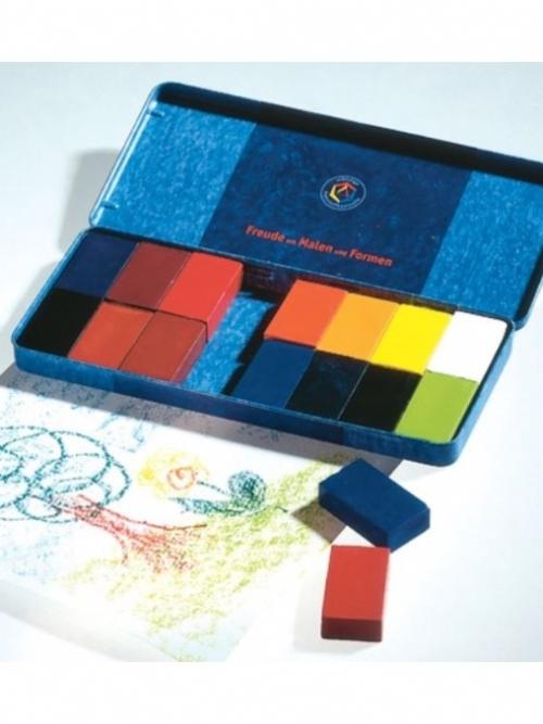 STOCKMAR Wax Blocks - 16 colours