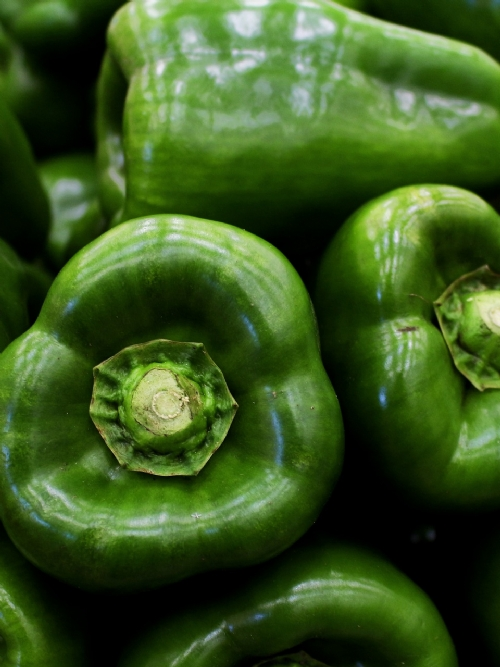 Peppers, green