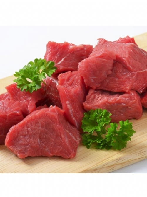 Beef Cubes, 500g
