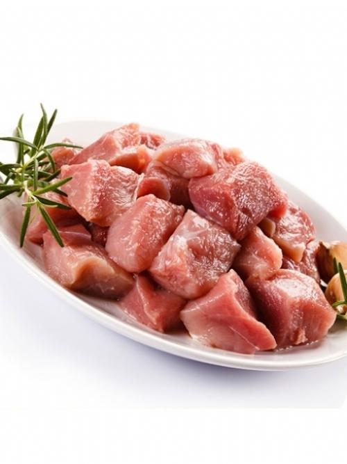 Pork Cubes, 500g
