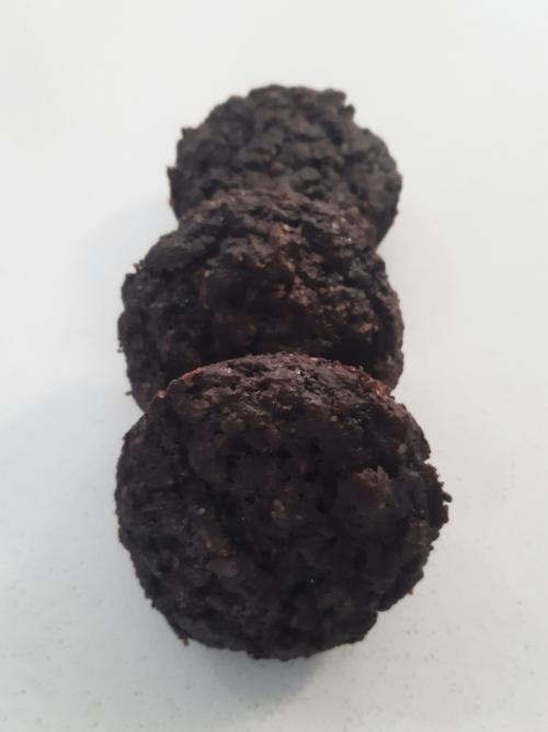 Chocolate Zucchini Muffin (vegan)