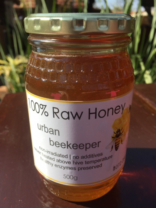 Raw Honey, 500g