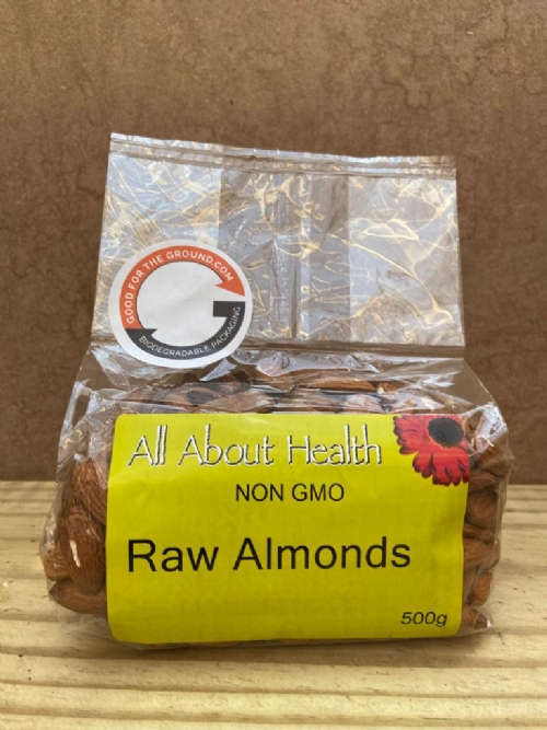 Almonds, raw - 500g