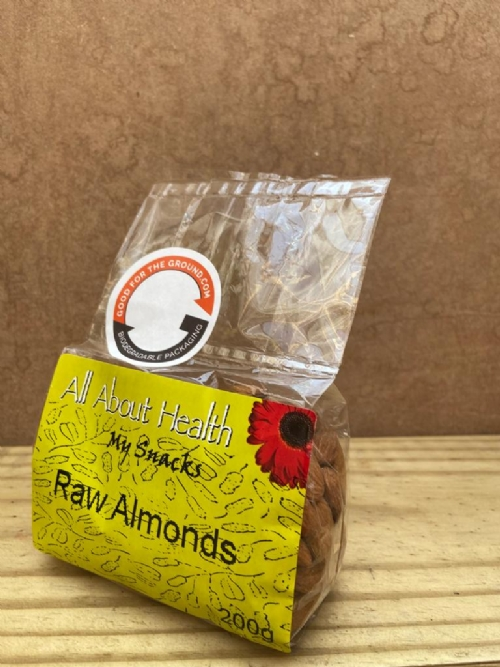 Almonds, raw - 200g
