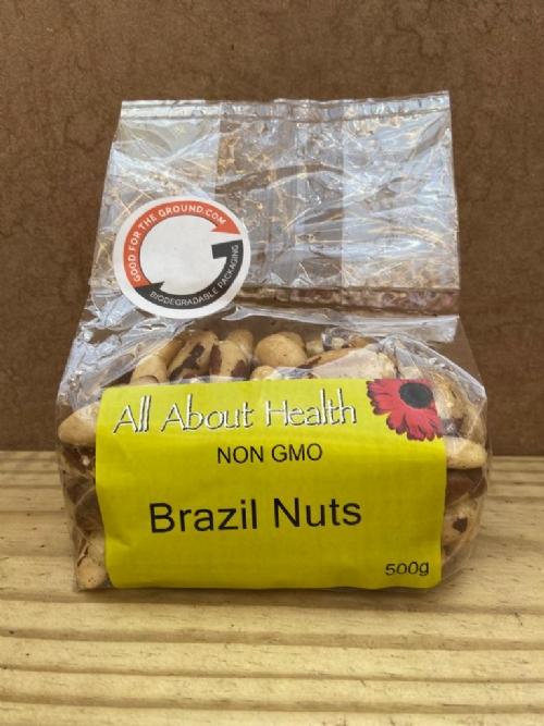 Brazil Nuts, raw - 500g