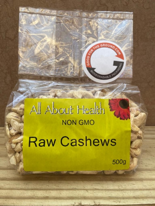 Cashew Nuts, raw - 500g