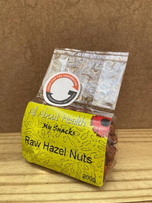 Hazelnuts, raw - 200g