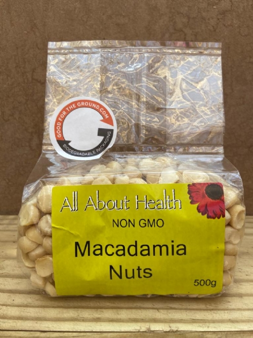 Macadamia Nuts, raw - 500g