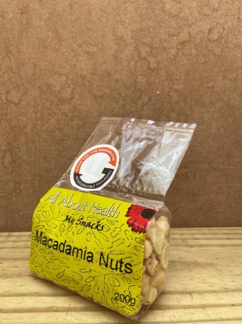 Macadamia Nuts, raw - 200g