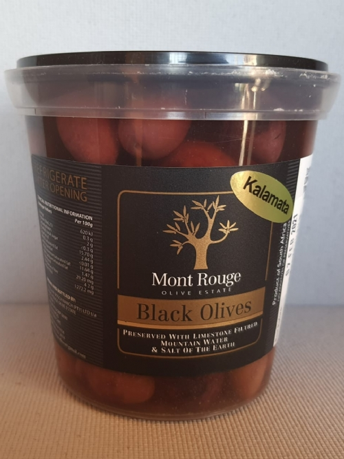 Mont Rouge Black Olives