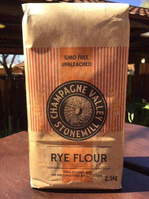 Rye Flour Champagne Valley