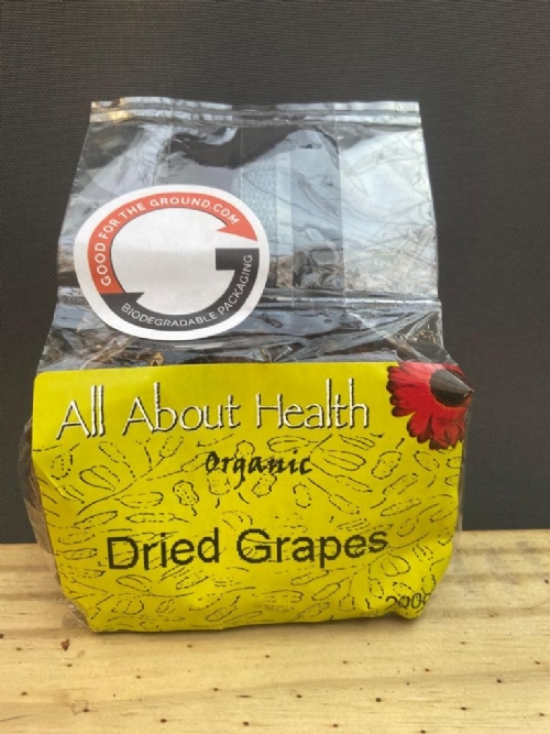 Dried Organic Grapes/Raisins
