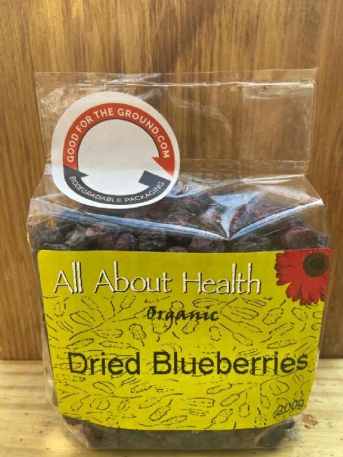 Dried Organic Blueberries