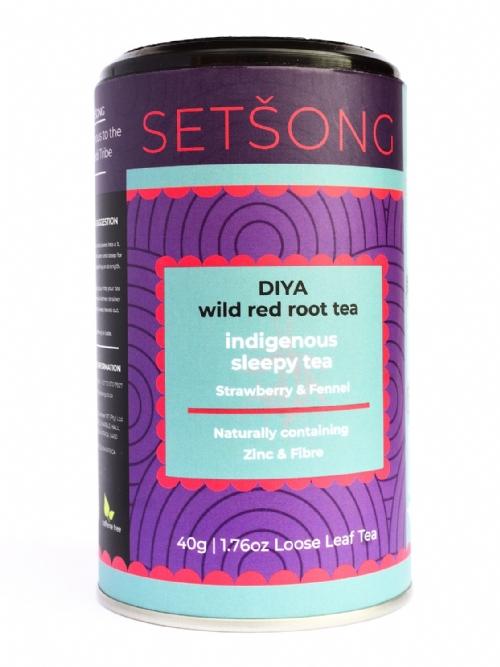 Diya Red Root Tea - Strawberry & Fennel