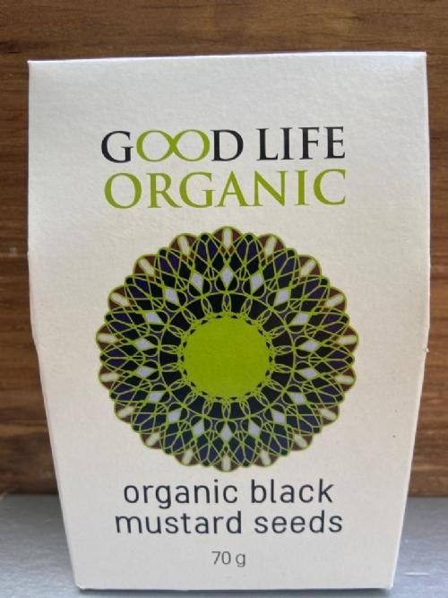 Organic Black Mustard Seeds Refill 70g
