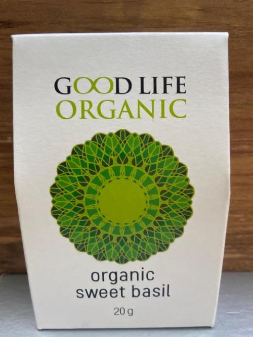 Organic Sweet Basil Refill 20g