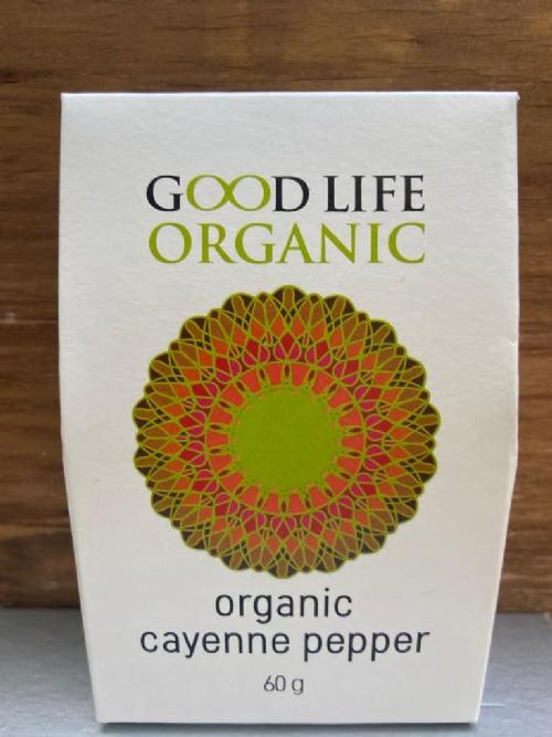 Organic Cayenne Pepper Refill 60g