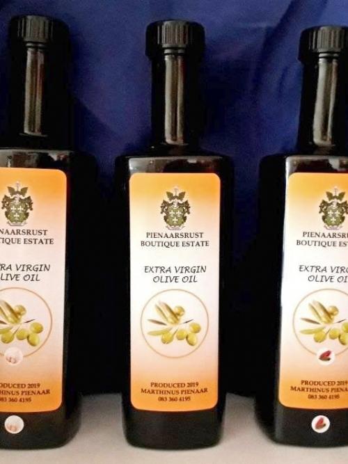 Pienaarsrust Extra Virgin Olive Oil