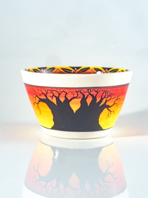 Straight Sunset Bowl