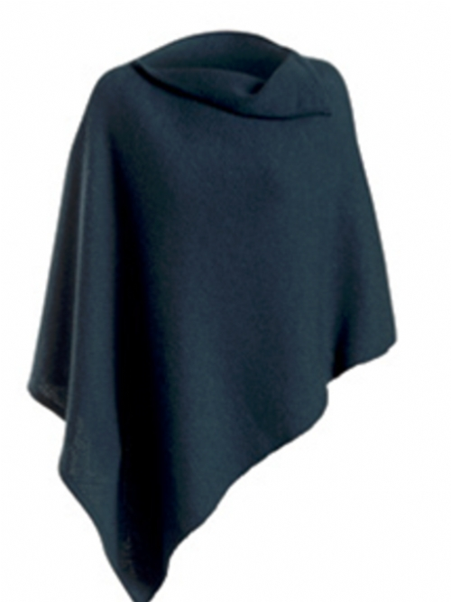 Merino and Mohair Poncho
