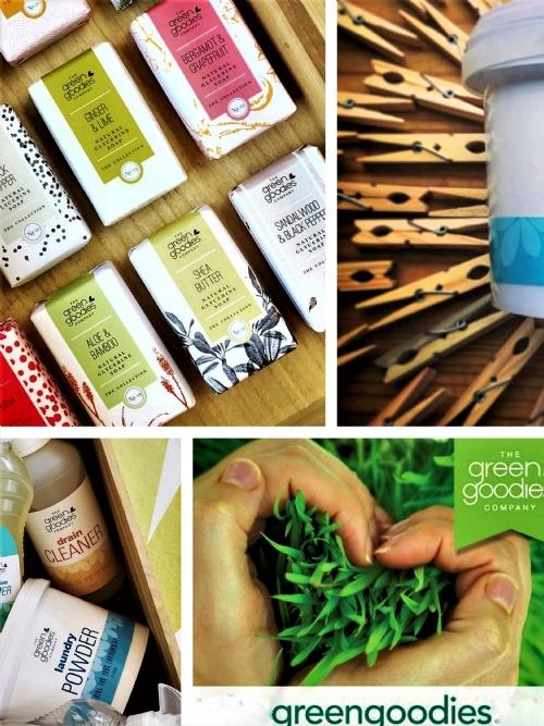 Green Goodies Natural Glycerine Soap Sandalwood & Bergamot 160g