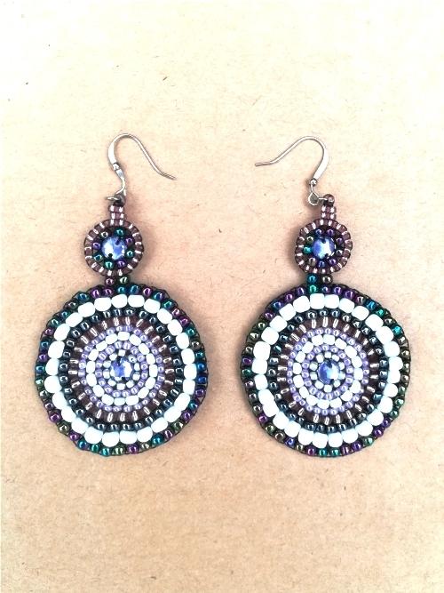 Mandala Earrings - Large