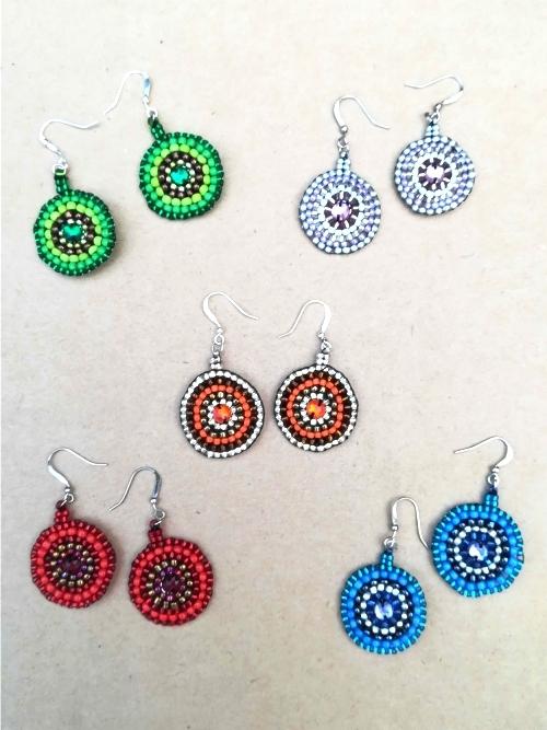 Earrings Mandala - Medium