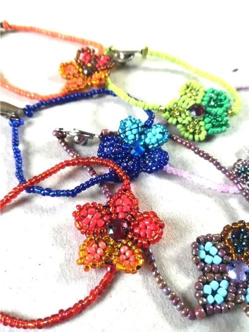 Bracelet With Centered Daisy