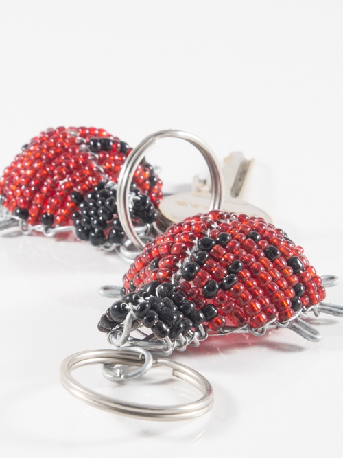 LadyBug Keyring/Zip-Puller
