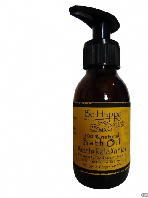 Be Happy Bath and Massage Oil