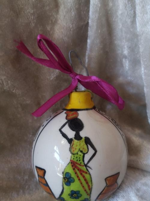 Hanging Ornament Dancing Ladies