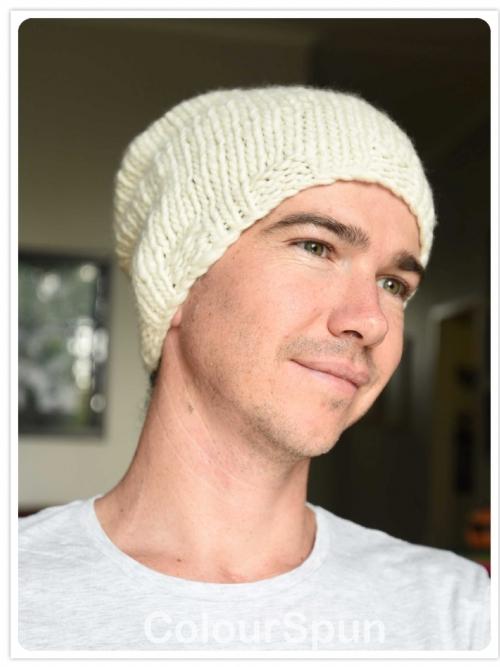 Slouchy Beanie Knit Kit