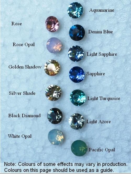 Swarovski Crystal Hanging Earrings