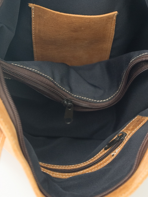 Leather Bag - Wanza
