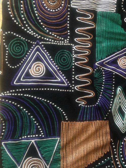 Round Neck 3/4 Dress