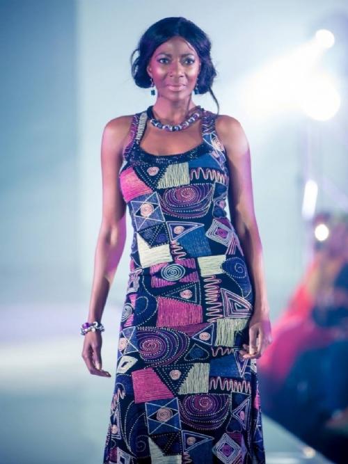Long Round Neck Ethnic Dress