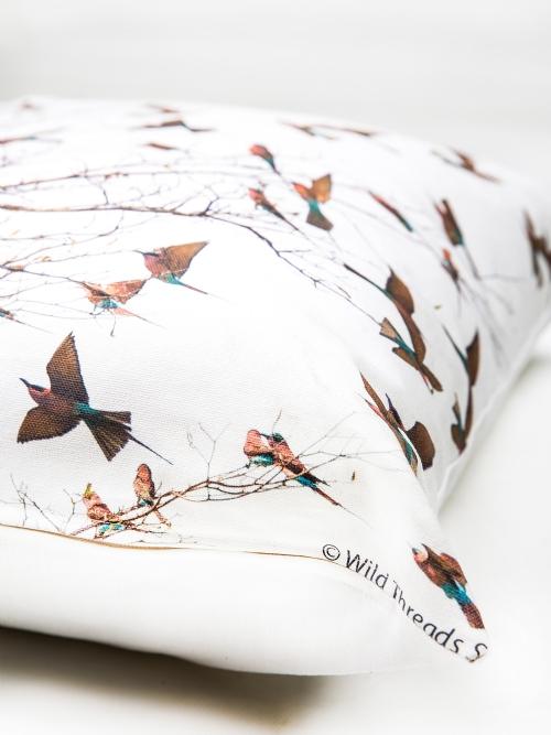Cushion Cover - Carmine Bee Eaters - Medium