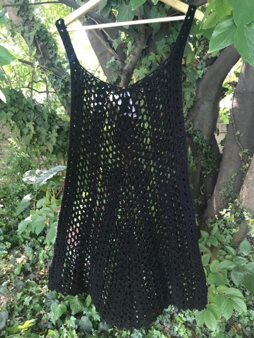 A-Line Cotton Lace Dress