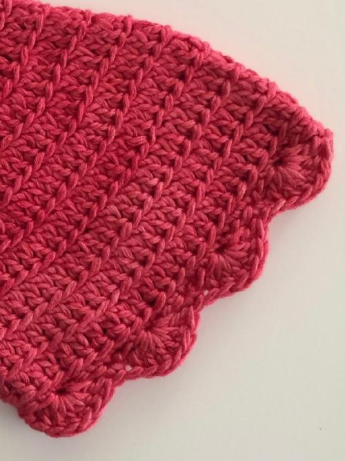 Pixie Hat (raspberry)