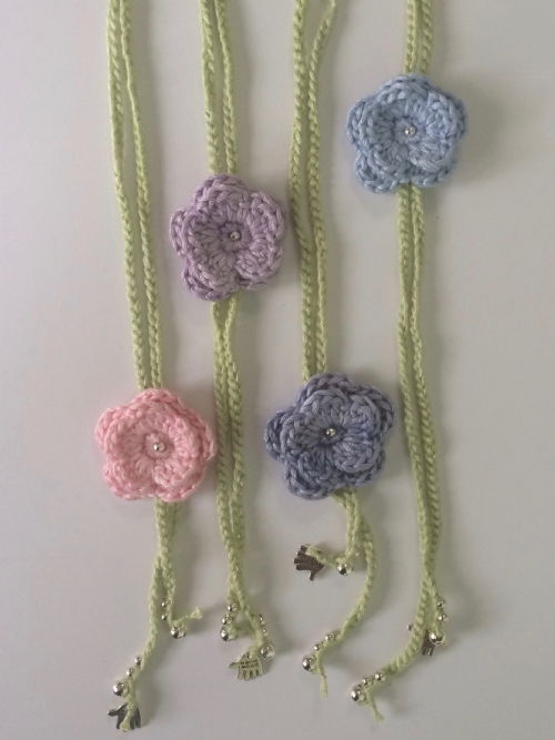 Flower Necklace (Bamboo Pastels)