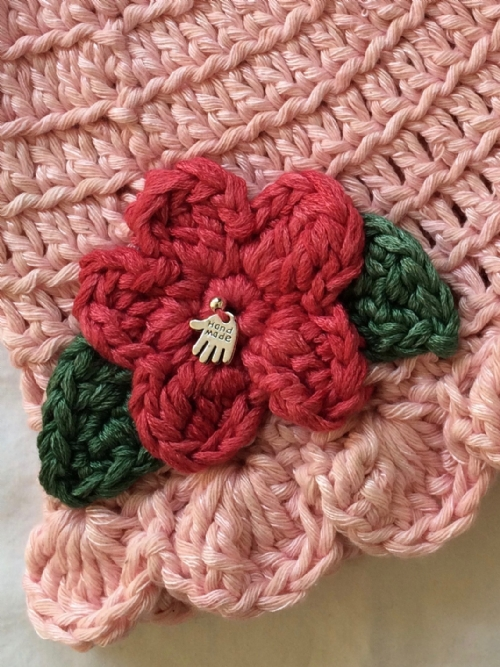 Miss Muffet Girls Hat - Ballet Pink