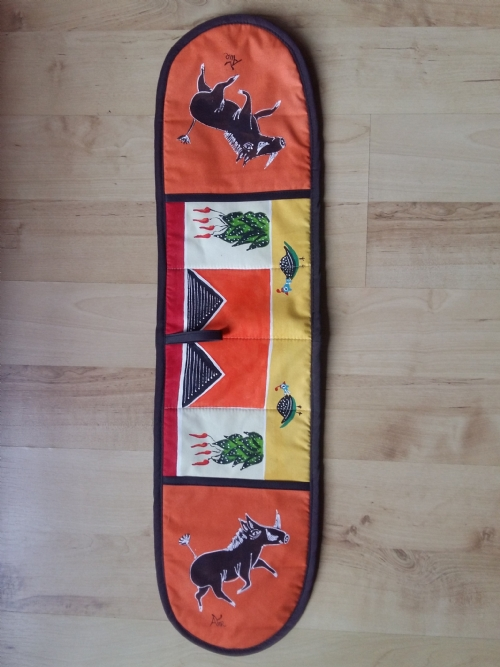 Double Oven Gloves Warthog - Orange