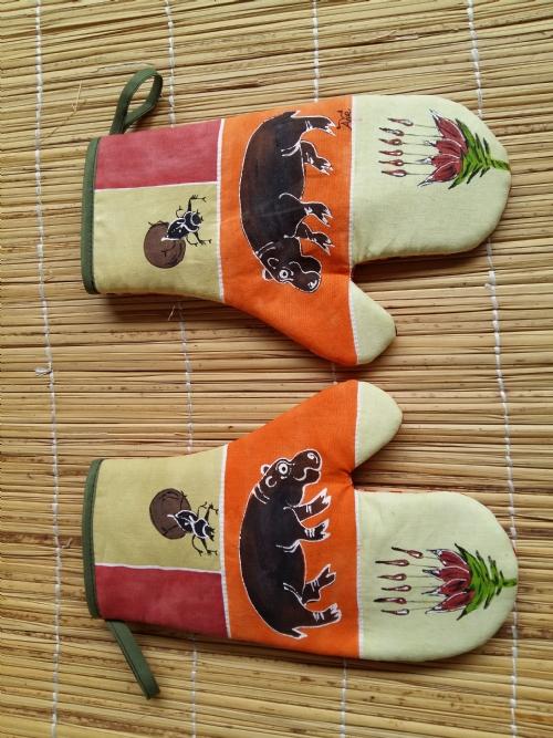Oven Gloves Hippo