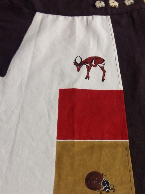 Wrap Skirt Hippo Brown