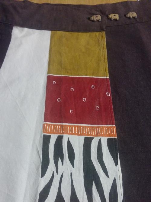 Wrap Skirt Rhino & Zebra